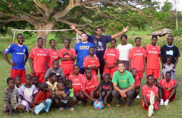 NIU Engineers Without Borders in Africa