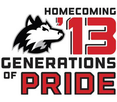 Homecoming '13 Generations of PRIDE logo