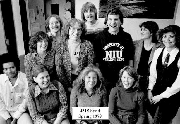 Section 4 of Journalism 315 (Spring 1979)