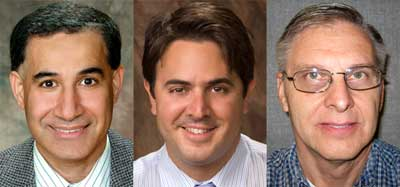Mansour Tahernezhadi, Federico Sciammarella and Joseph Santner