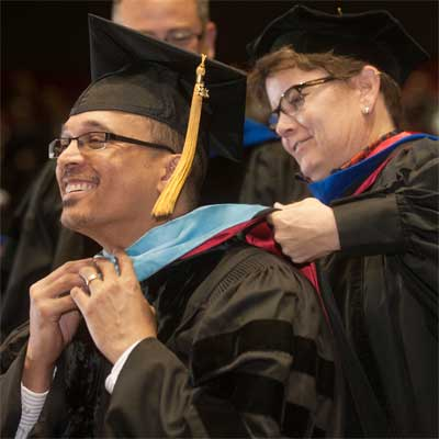 NIU Graduate School commencement, May 2013