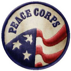 Photo of a Peace Corps patch