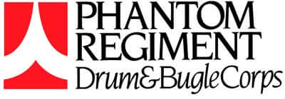 Logo of the Phanton Regiment Drum & Bugle Corps