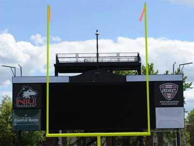 Huskie Stadium scoreboard