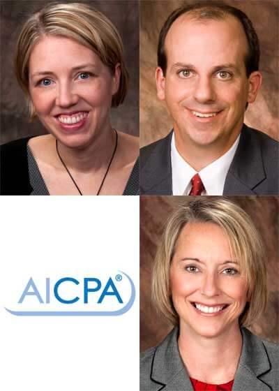 Clockwise, from top left: Jennifer Butler-Ellis, Mark Riley, Rebecca Shortridge.