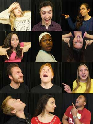 NIU Class of 2014 acting majors