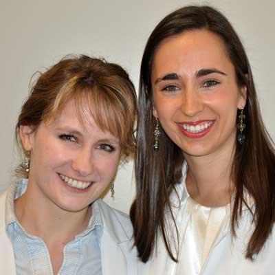 Liz Tusler (left) and Rachel Magann Faivre