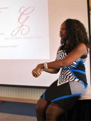 Conference speaker Whitney Gaskins