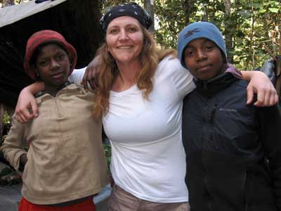 NIU anthropology student Kim Lein will never forget the people of Madagascar.