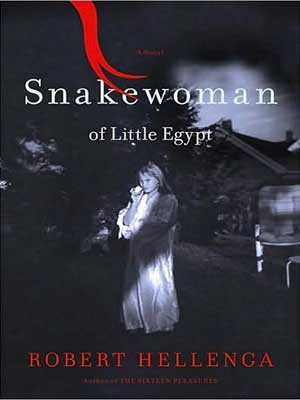 "Book cover of ""Snakewoman of Little Egypt"""