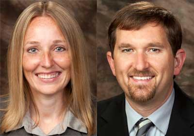 Amanda McCarthy and Bryan Dallas