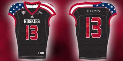 NIU Active Heroes jerseys