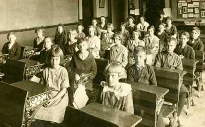 An old classroom