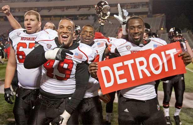 Detroit, baby!