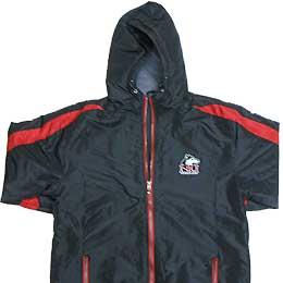 Photo of a Charger stadium jacket
