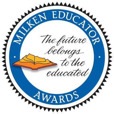 Milken Educator Awards logo