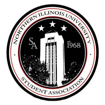 NIU Student Association logo
