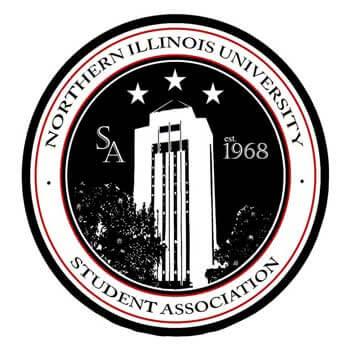 NIU Student Association logo