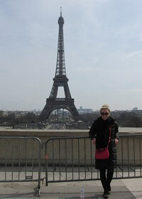 Lauren Diehl studied in Paris as part of her Professional MBA program
