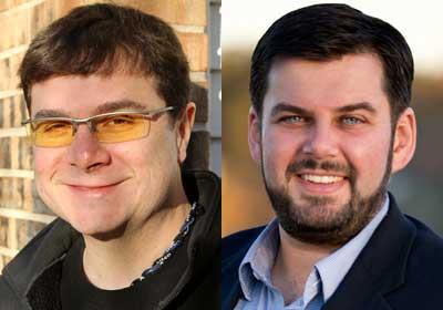 Ben Gardner and Marius Morosanu