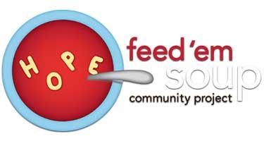 feed 'em soup logo