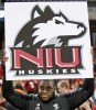 NIU Huskies football fan