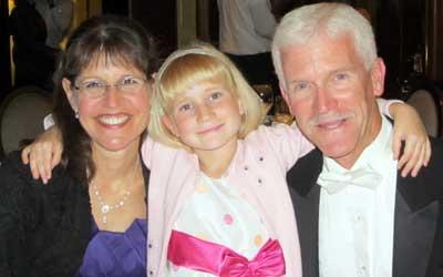 Karen, Carl and daughter Rachel