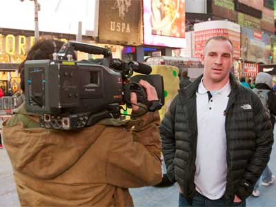 Jordan Lynch in New York City