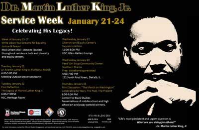 MLK Week poster