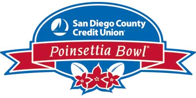 Logo of the Poinsettia Bowl