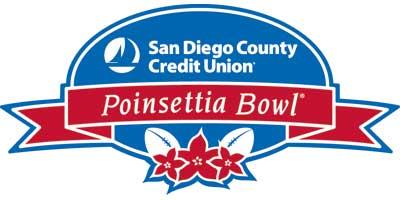 Logo of the Poinsettia Bowl