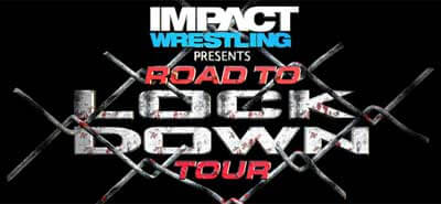 IMPACT WRESTLING Road to Lockdown World Tour logo