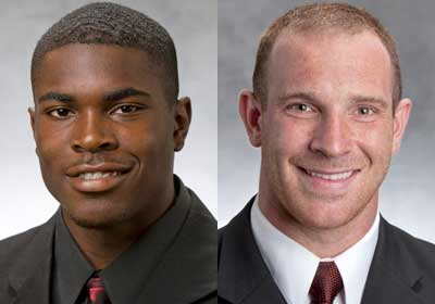 Jimmie Ward and Jordan Lynch