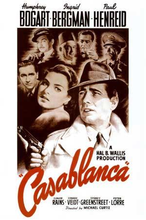 """Casablanca"" movie poster"