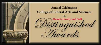 College of Liberal Arts and Sciences: Distinguished Awards