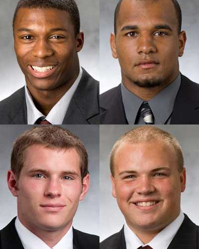 Top: Dominique Ware and Rob Sterling. Bottom: Jacob Brinlee and Ricky Connors