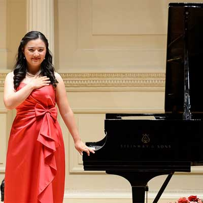 NIU alumna Yao Lin performed at Carnegie Hall after winning an international piano competition.