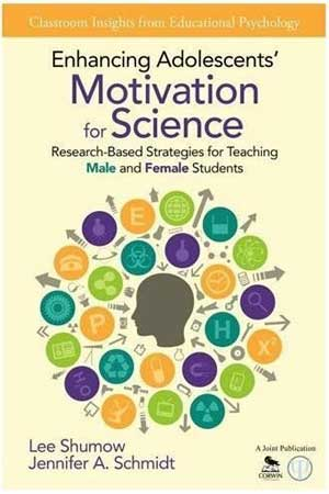 "Book cover of ""Enhancing Adolescents' Motivation for Science"""