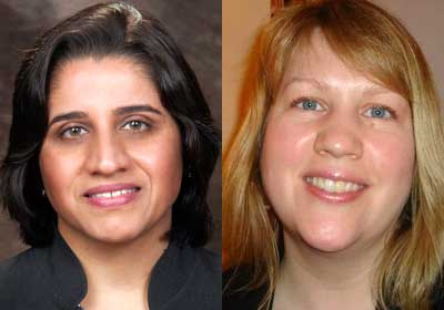 Ritu Subramony and Carrie Zack