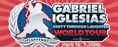 Gabriel Iglesias: Unity through Laughter World Tour
