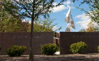 Forward, Together Forward Memorial Garden