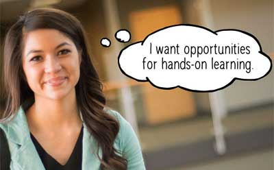 We've Got That: I want opportunities for hands-on learning