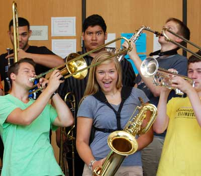 Summer camp: jazz
