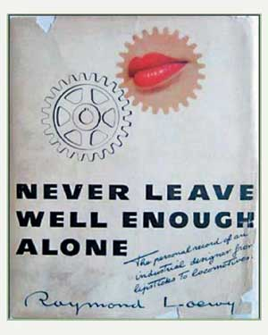 "Book cover of ""Never Leave Well Enough Alone"""