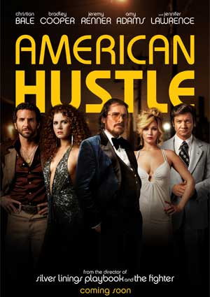 """American Hustle"" movie poster"