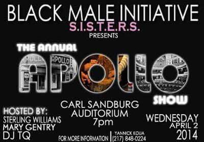 BMI/S.I.S.T.E.R.S. Apollo Show poster