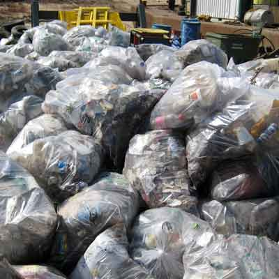 Photo of bags of trash