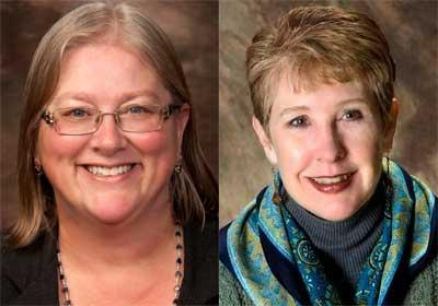 Carolinda Douglass and Doris Macdonald