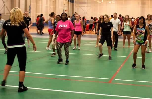 Rec Center group fitness