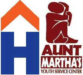 Logos of Hesed House and Aunt Martha's Youth Service Center